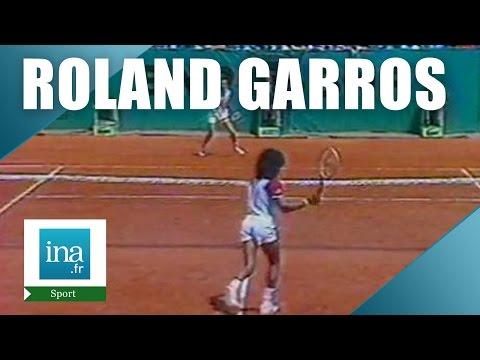 Roland Garros 1983 : 1/2 finale Yannick Noah Roger Vasselin | Archive INA