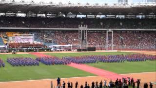 1000 Penari Tortor dalam Perayaan Jubileum 150 Tahun HKBP Di Gelora Bung Karno (Klip 1)