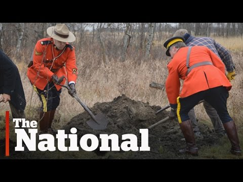 Ancient grave on Alberta farm unearths historical mystery