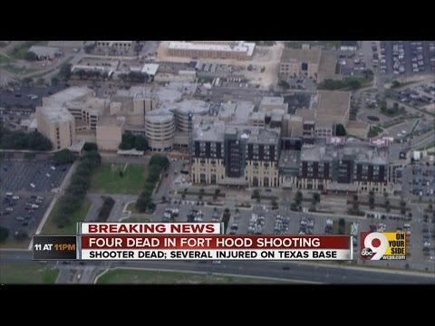 Fort Hood shooting leaves four dead