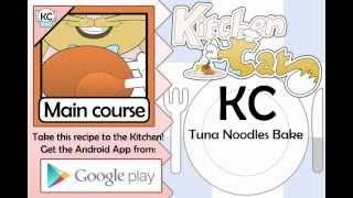 Tuna Noodles Bake - Kitchen Cat