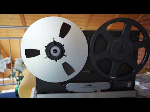 Revox B77 reel-to-reel: look inside, counter belt service