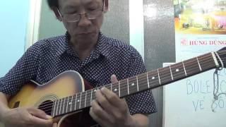 bolero ve so nguoi ngoai pho  guitar 2016