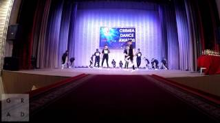 Выступление studio GRAD на CRIMEA DANCE AWARDS город Евпатория