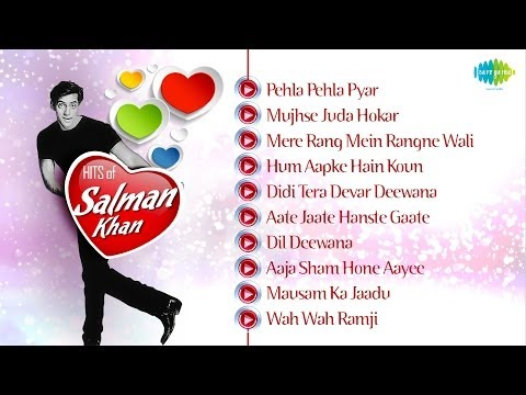 Best Songs Of Salman Khan  Salman Khan Hit Songs  Maine Pyar Kiya  Romantic Songs