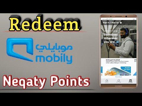 How To Redeem Mobily Neqaty Point Youtube