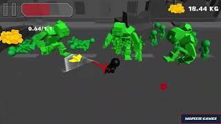 Stickman sword Fighting 3D - Detroit hills Game Walkthrough 2