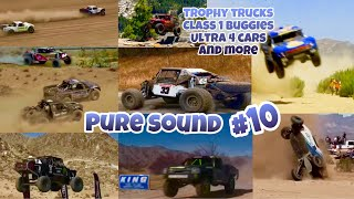 PURE SOUND #10 | Desert Racing Compilation (Trophy Trucks, Ultra4 Cars and More!)