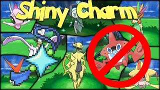 How To Obtain The Shiny Charm Without Completing Your Pokedex! -- Pokemon Sun and Moon