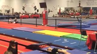 Amazing 6 years old gymnast Emma rester