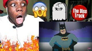Black Panther vs Batman - Cartoon Beatbox Battles by verbalase REACTION!!!