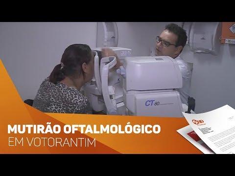 Mutirão oftalmológico em Votorantim - TV SOROCABA/SBT