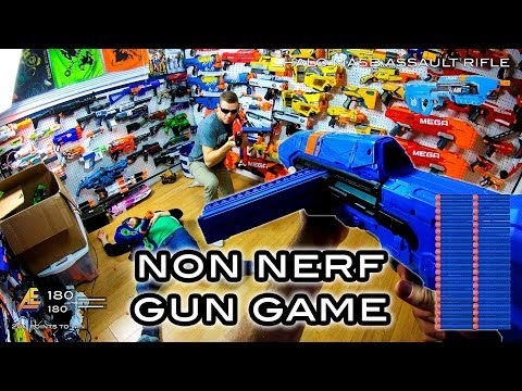 NERF GUN GAME | NON NERF EDITION! (First Person Shooter In 4K!)