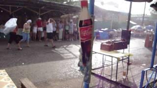 Гроза с градом в поселке Жемчужный на озере Шира.(Погода на курорте Шира в Хакасии., 2010-07-08T11:33:41.000Z)