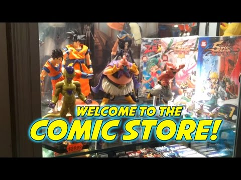 The Ultimate NYC Comic Store