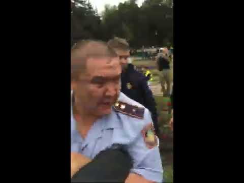 Полиция Казахстана применяет