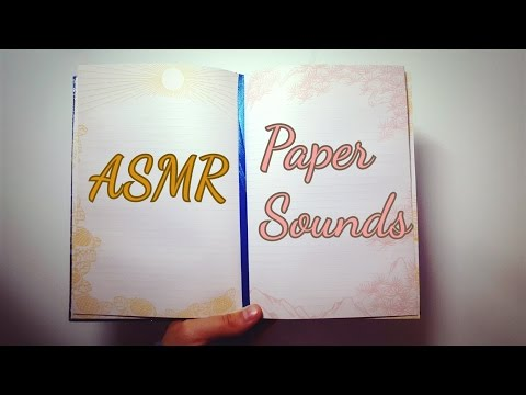 ASMR ~ Paper Sounds / Page Turning (no talking)