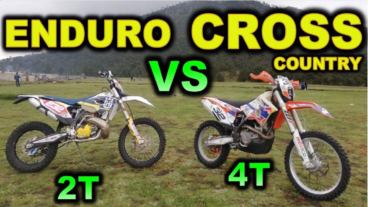MOTO ENDURO 2T VS CROSS COUTRY 4T¿CUÁL ES LA DIFERENCIA ?   BLITZ RIDER
