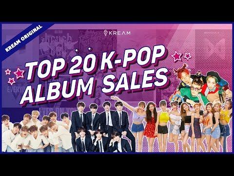 Top 20 KPOP Album Sales