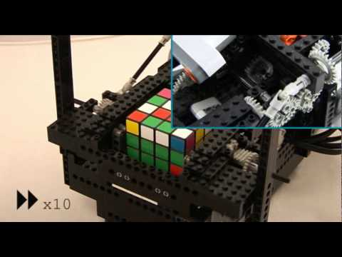 Possibly the first ever 4x4x4 LEGO Rubik's Cube solver?