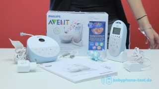 Philips Avent SCD 580 Babyphone im Praxistest: Philips Avent SCD 580 Video Review
