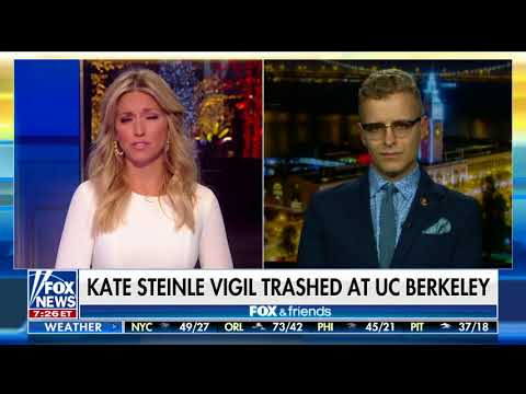 Download Youtube: Kate Steinle Memorial Destroyed At Berkeley: Campus Reform's Troy Worden Discusses