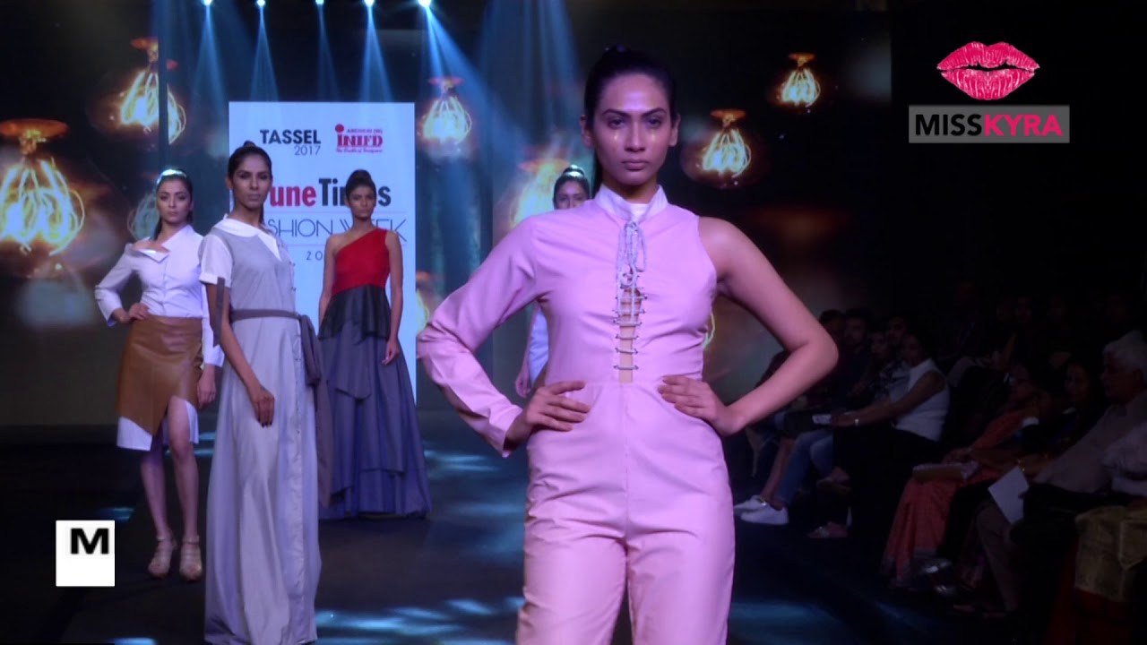 Take A Look At Tassel 2017 Inifd Andheri West Collection At Pune Times Fashion Week Day 2 Youtube