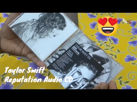 Taylor Swift Reputation(2017) Audio CD | Unboxing & Quick Look