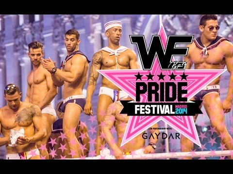 WE PARTY PRIDE FESTIVAL - MADRID 2014. Official Video