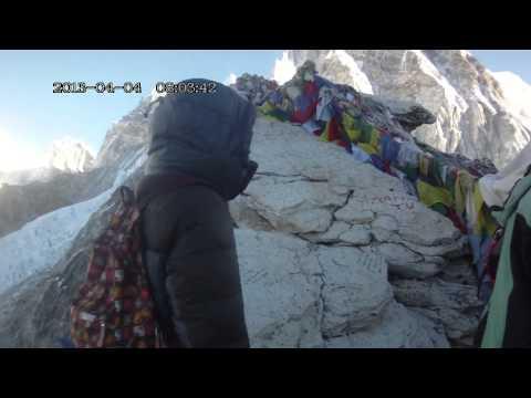 Вершина Кала Паттара вид на Эверест