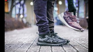 Acostumbrar Desarmado Hermano  How Adidas Lied to me AND YOU! | Kith x Nonnative Ultraboost Mid On Foot  Review - YouTube