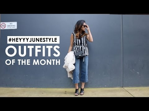 Lookbook - Outfits of the Month (July)
