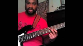 Erica Campbell Bass Lesson: I Need A Lil Mo Jesus