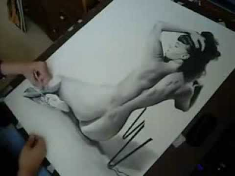 Bettie Page speed drawing