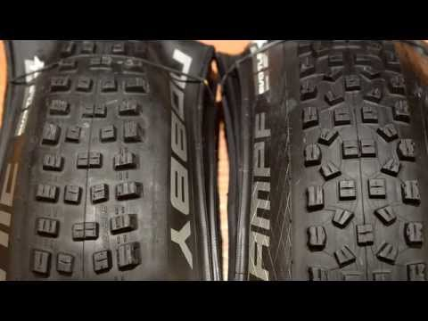 "2015 Schwalbe Nobby Nic and Hans Dampf 29"" Measured on WTB i23 Rims - Kona Process 111"