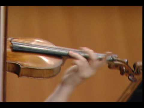 Jinjoo Cho plays 'The Song My Mother Taught Me' by Dvorak