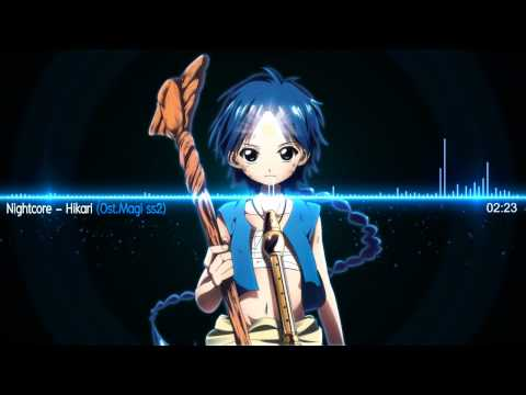 Nightcore - Hikari 光 [Magi The Kingdom Of Magic OP2]