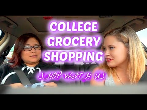 COLLEGE DAY IN THE LIFE | GROCERY SHOP WITH US | CENTRAL MICHIGAN UNIVERSITY