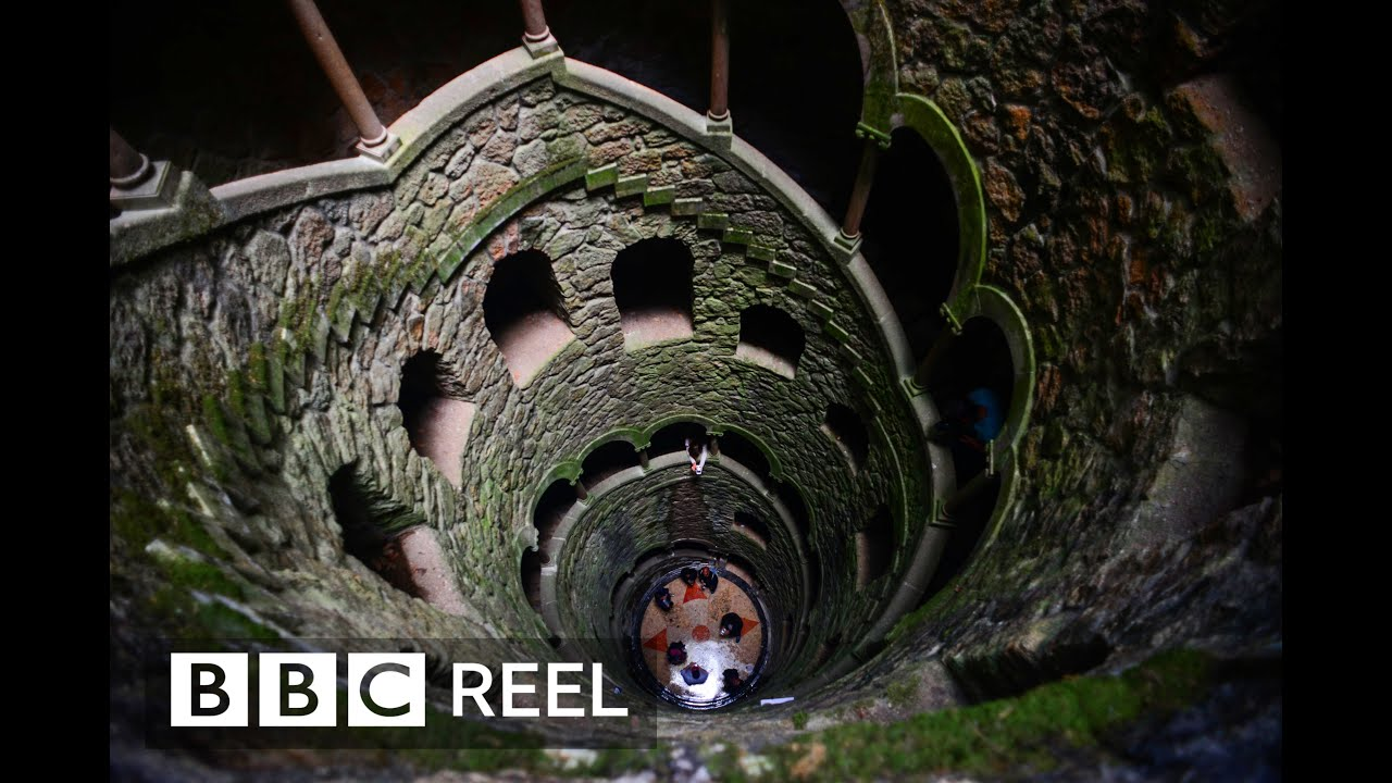 Sintra's mysterious 'inverted tower' - BBC REEL