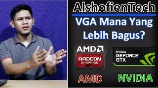membandingkan graphic card amd dengan nvidia