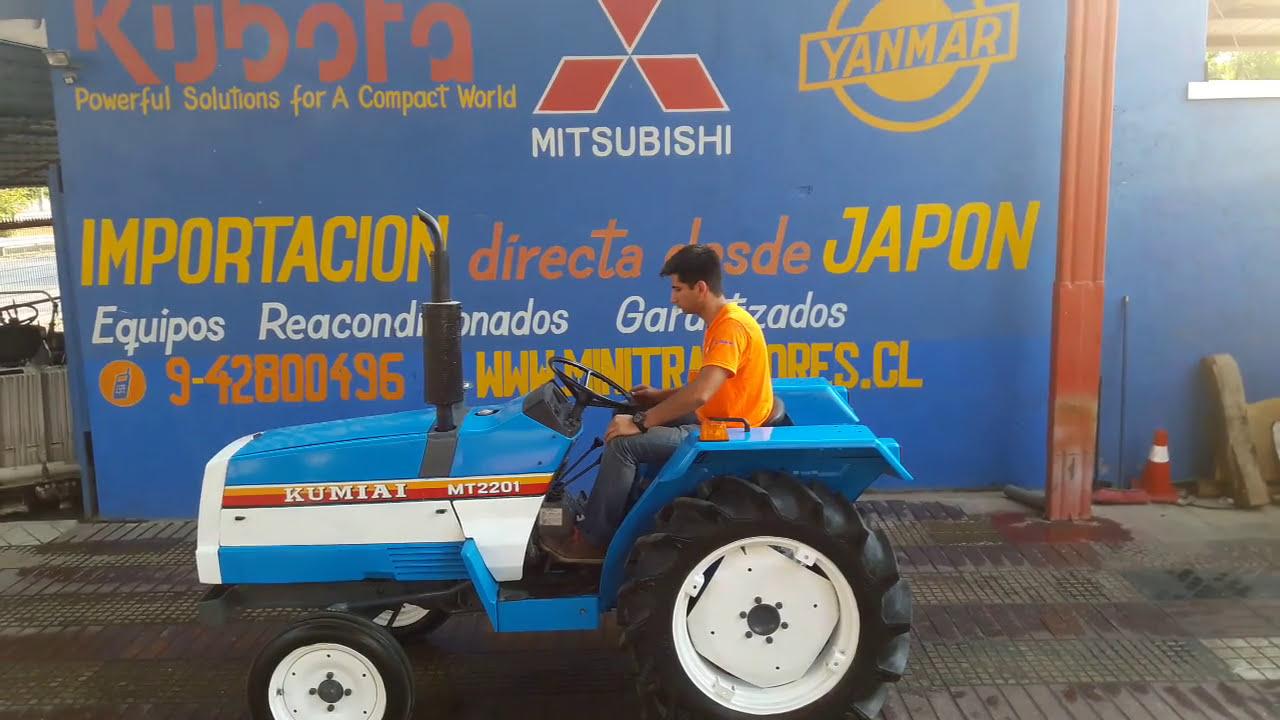 Mini Tractor Mitsubishi Mt2201  Importadora Nuñez Ltda 01:21 HD