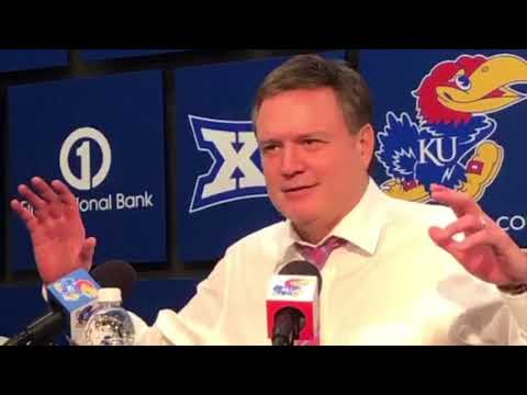 Coach Self talked about Billy Preston's decision to play in Bosnia after KU's win over Baylor