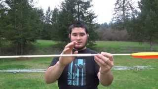 Arrow Build-along - 3 Piece Takedown Atlatl Dart With Pex Pipe And Wood Dowels