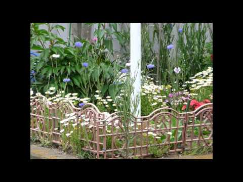 Garden Border Fencing 2015 YouTube