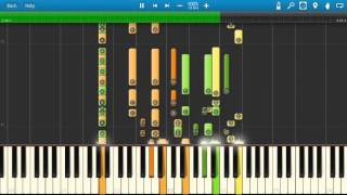 Queen - Hammer To Fall - Piano Tutorial - Synthesia - How To Play