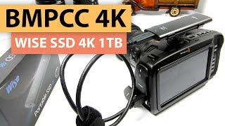 "BMPCC 4K Camera Review | Wise Advanced SSD 1TB ""Media"" for the Blackmagic Pocket Cinema Camera 4K"