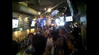 Champions League Final (chelsea fans reaction to penalty shootout)