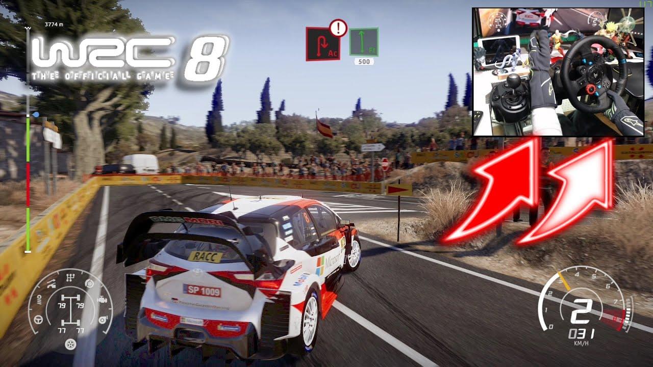 Download WRC 8 Toyota Yaris WRC Settings SPAIN / Logitech G29