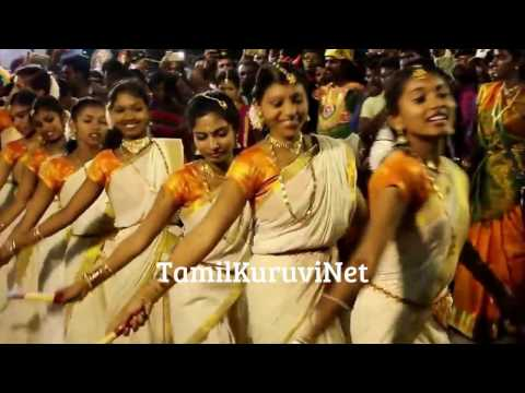 Tamil Cute Girls Dance Ramayana KatteKulasai Dasara dance Program