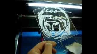 Лазерная гравировка на оргстекле(, 2013-04-03T08:55:55.000Z)